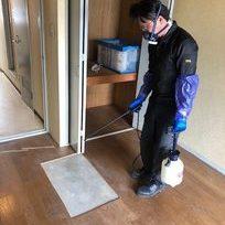 静岡県富士市富士川で特殊清掃