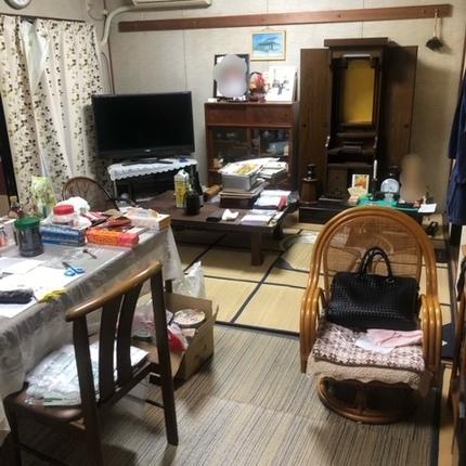 静岡県裾野市で遺品整理