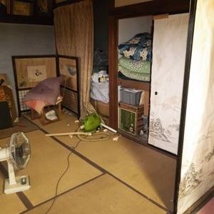静岡県三島市にて解体前の片付けのご依頼